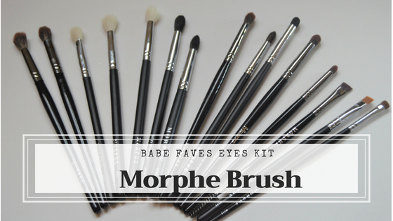 BABE FAVES morphe brush