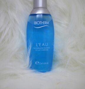biotherm l'eau parfumé coffret noel 2018