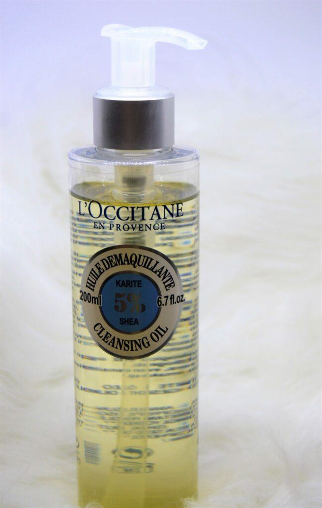 ingrédients démaquillant huile occitane frivole et futile