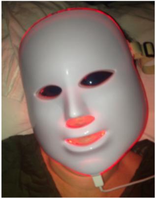 masque LED institut