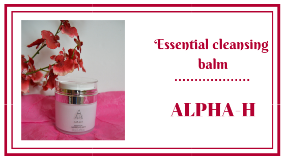 essentials cleansing balm alpha-h frivole et futile