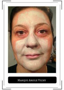 masque argile purifiant vichy frivole et futile