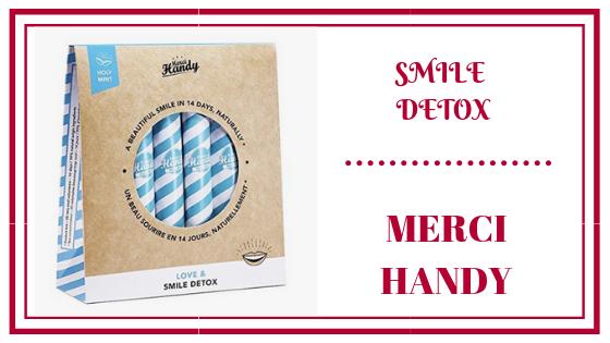 Smile Detox goût menthe - mercy handy