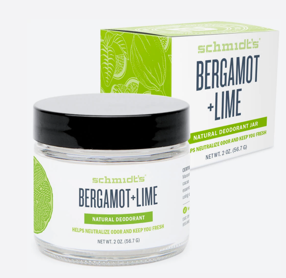 schmidt's déodorant bergamot & lime version originale