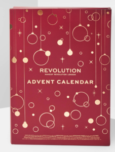 calendrier de l'avent 2019 make up revolution