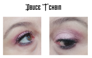douce tchoin martine cosmetic make up eyes