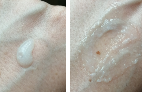 photo texture gommage visage purify rice scrub de nivéa