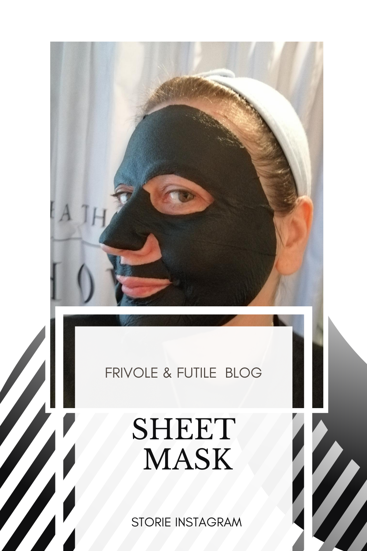 Frivole & futile Blog sheet mask