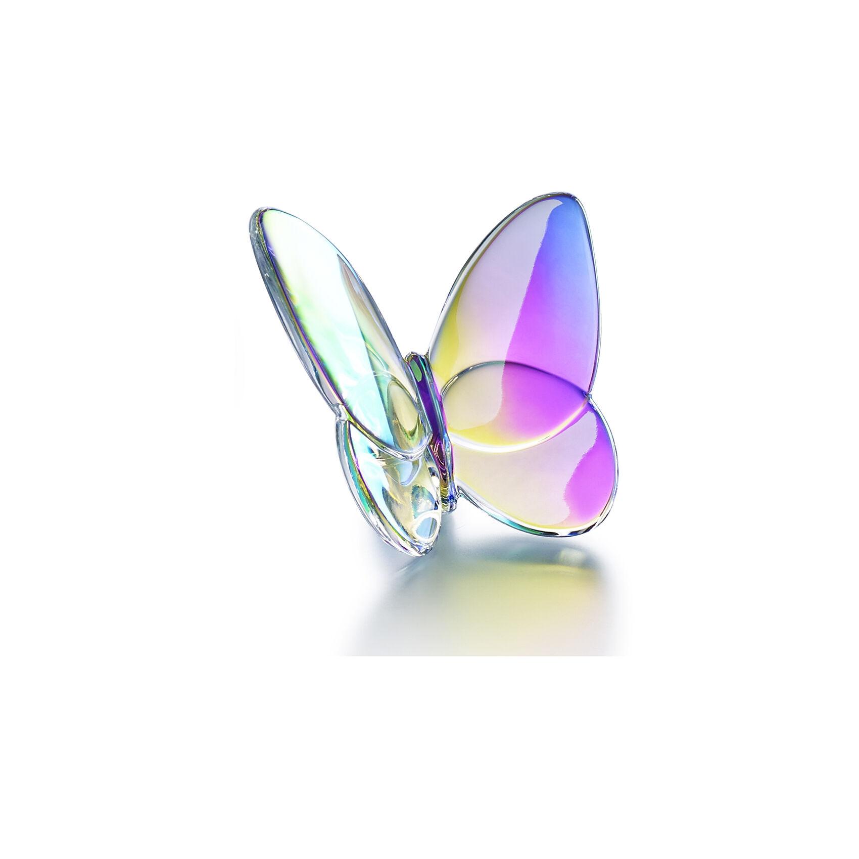 baccarat porte bonheur papillon