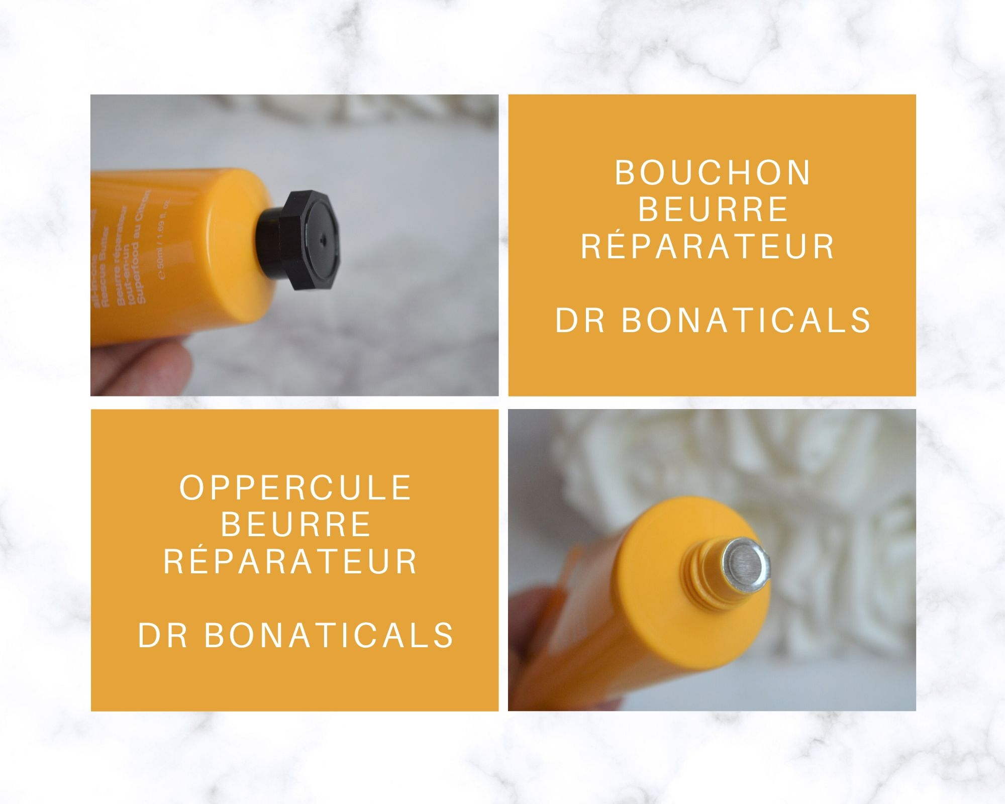 BEURRE RÉPARATEUR SUPERFOOD CITRON de Dr Bonaticals