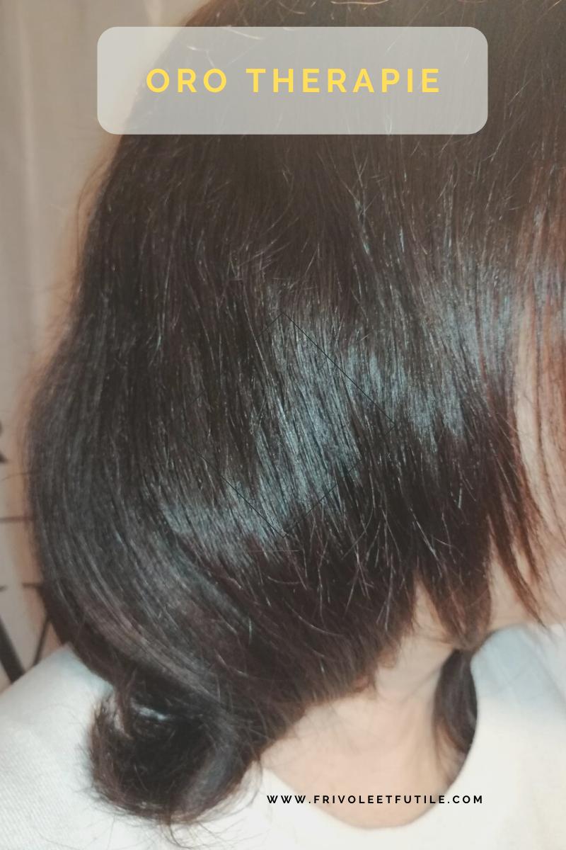 gamme cheveux oro puro therapy rendu