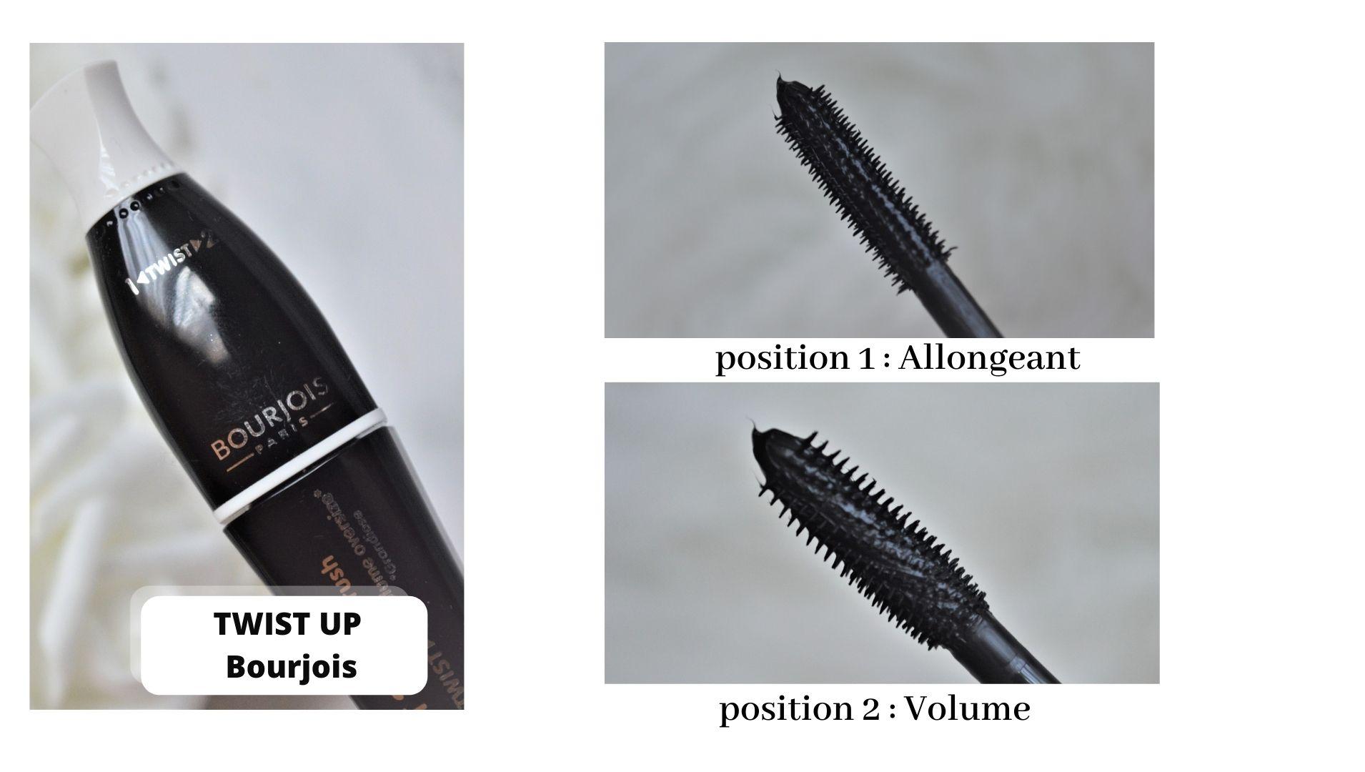 Embout mascara Twist up the volume bourjois