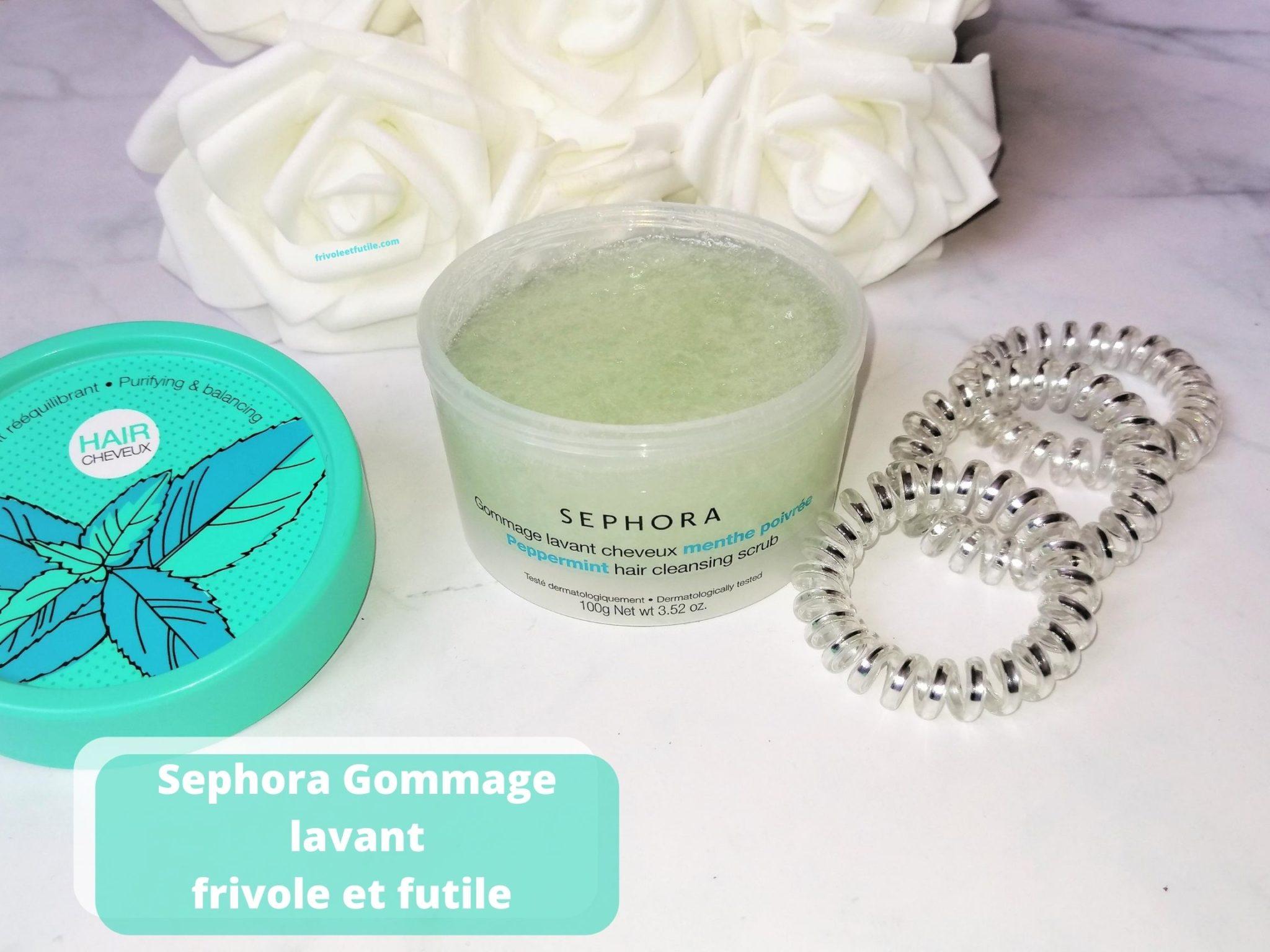 Sephora Gommage lavant blog frivole et futile (1)