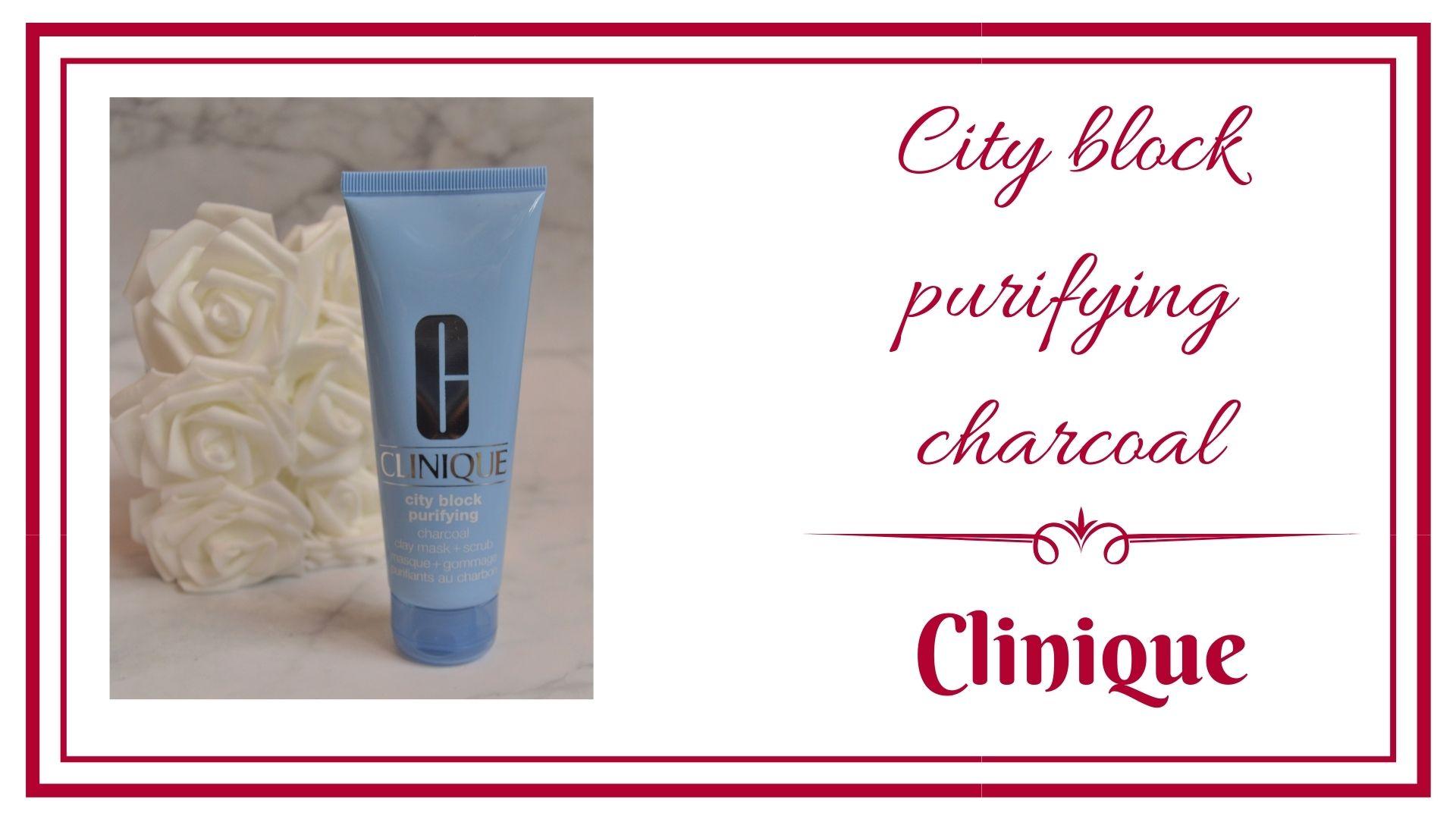 BLOG frivole et Futile city block purifying charcoal clinique