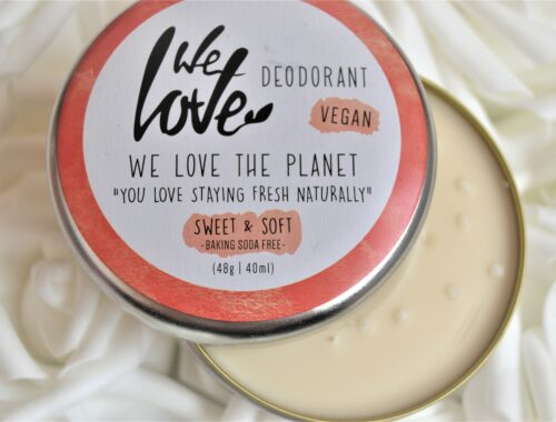 sweet & soft we love the planet déodorant vegan
