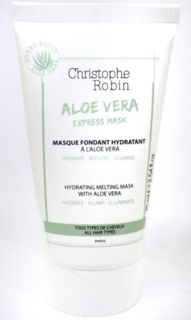 masque fondant express Aloe vera Christophe Robin