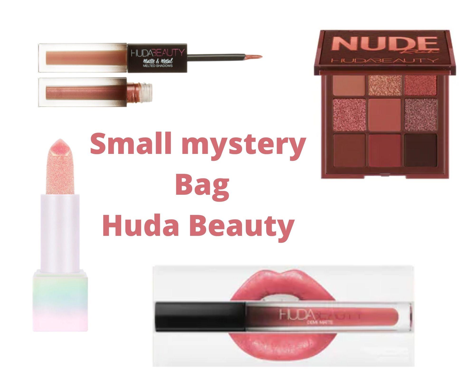 HUDA BEAUTY MYSTERY BAG blog frivole et futile