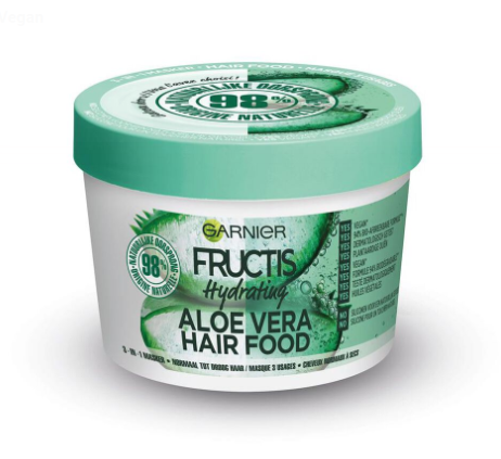 pot masque cheveux Hydrating Aloe Vera Hair Food de garnier
