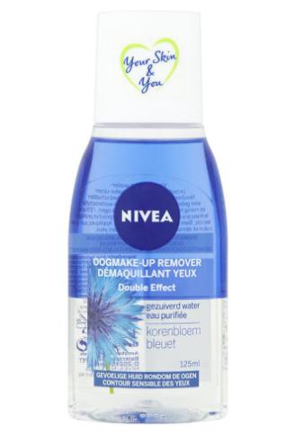 démaquillant yeux double effet eau purifiée bleuet de nivea