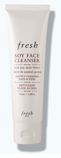 soy face cleanser fresh