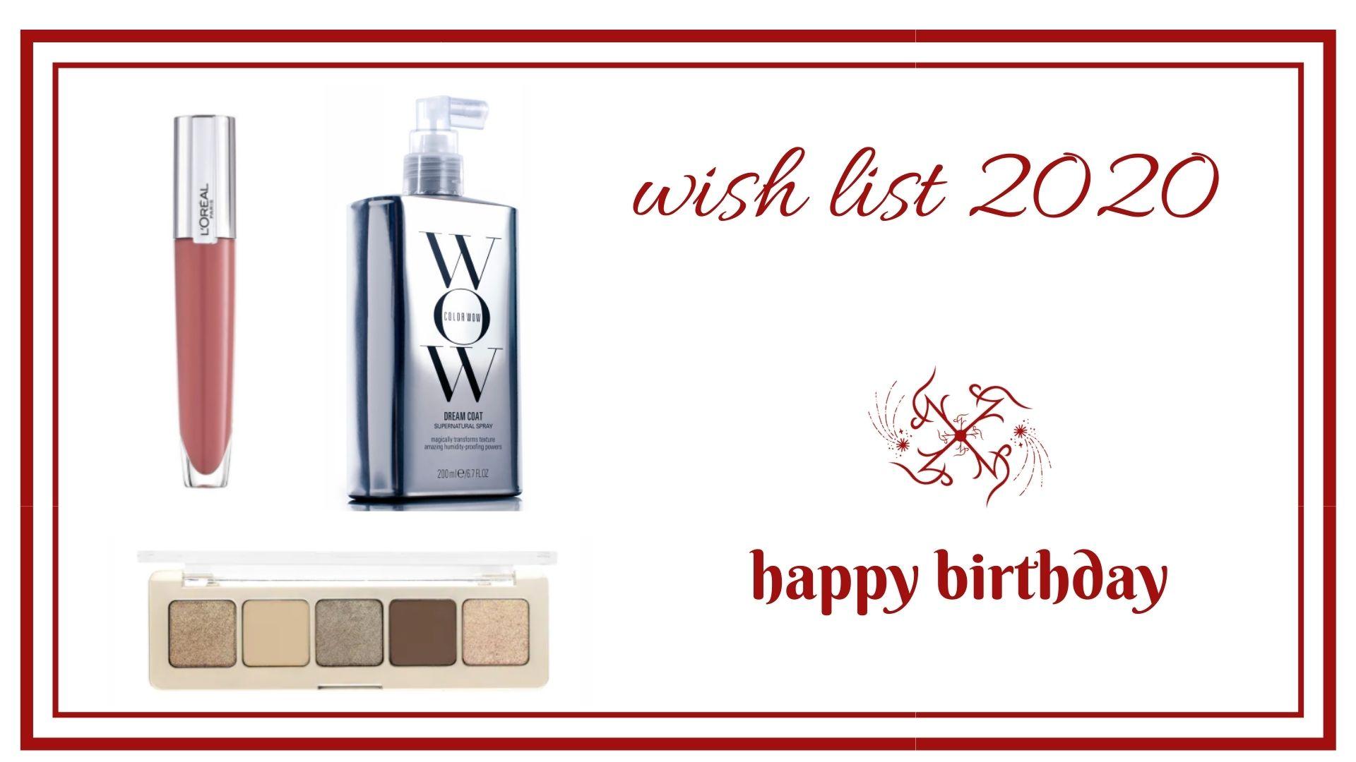 _BLOG frivole et Futile wish list 2020