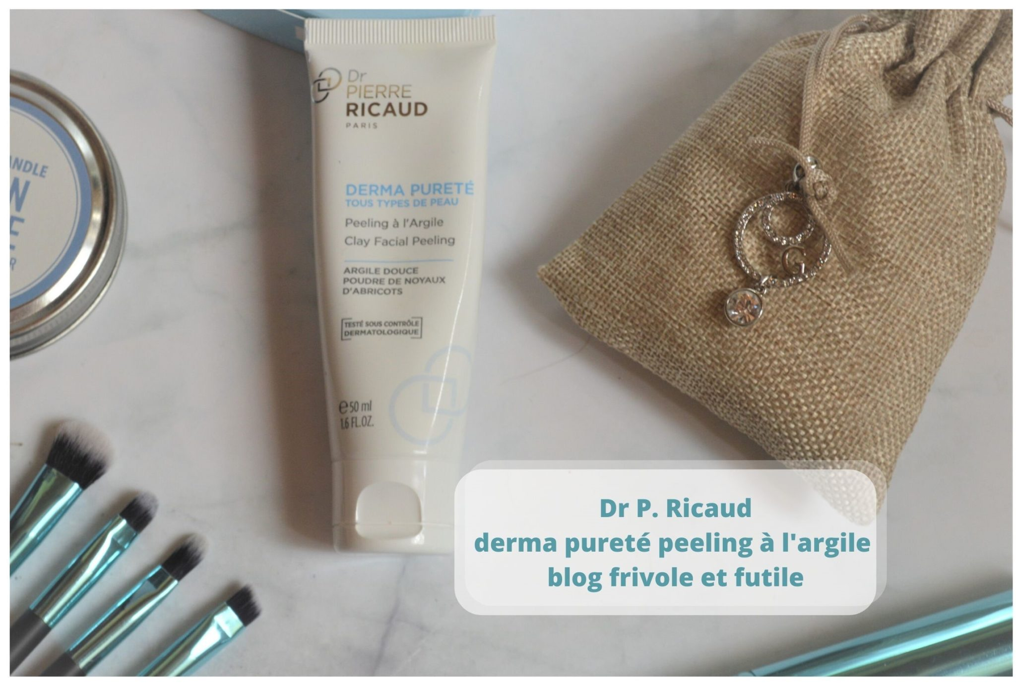 derma pureté peeling à l'argile Dr P. Ricaud